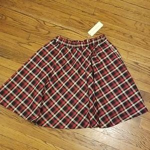 Kate Kasin plaid Women skirt